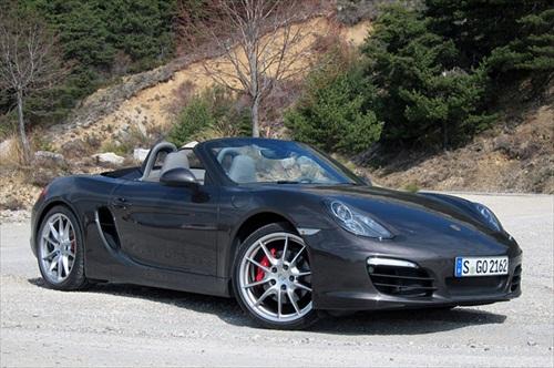 Geneva Motor Show 2012 Porsche Boxster S - 1