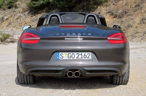 Geneva Motor Show 2012 Porsche Boxster S - 5