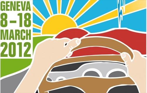 Geneva Motor Show 2012 Poster