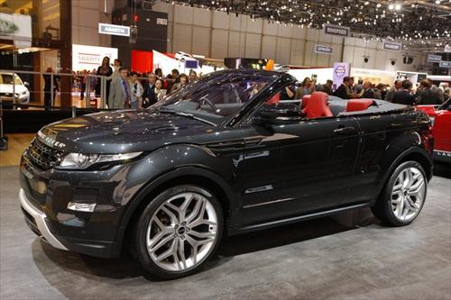 Geneva Motor Show 2012 Range Rover Evoque Cabrio Concept Car - 2
