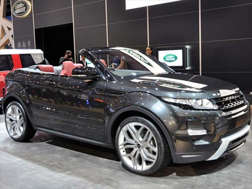 Geneva Motor Show 2012 Range Rover Evoque Cabrio Concept Car - 3