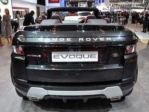Geneva Motor Show 2012 Range Rover Evoque Cabrio Concept Car - 4