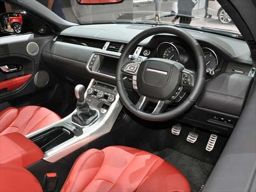 Geneva Motor Show 2012 Range Rover Evoque Cabrio Concept Car - 5