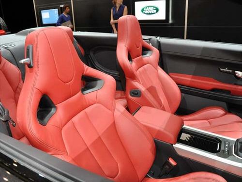 Geneva Motor Show 2012 Range Rover Evoque Cabrio Concept Car - 6
