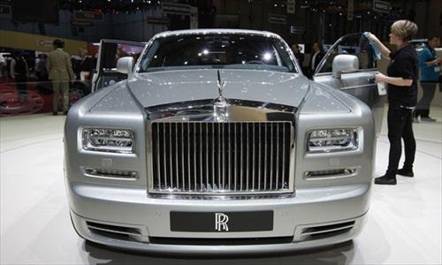 Geneva Motor Show 2012 Rolls Royce Phantom Series II - 1