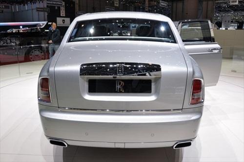 Geneva Motor Show 2012 Rolls Royce Phantom Series II - 3