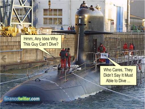 Apple $500 Billion - Najib Scorpene Submarine Can't Dive