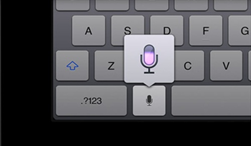 New iPad 3 Voice Dictation