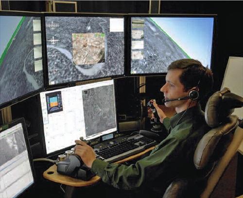 US Drones Studies Operator