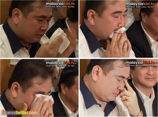 Wee Ka Siong Cry Baby