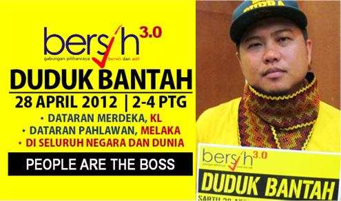 Bersih 3.0 28 Apr 2012