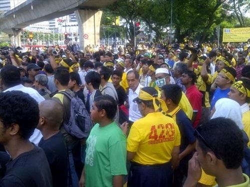 Bersih 3.0 Early Morning Chanting Hidup Bersih