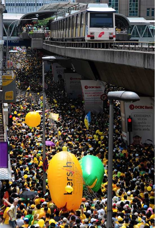 Bersih 3.0 Massive Demonstrators