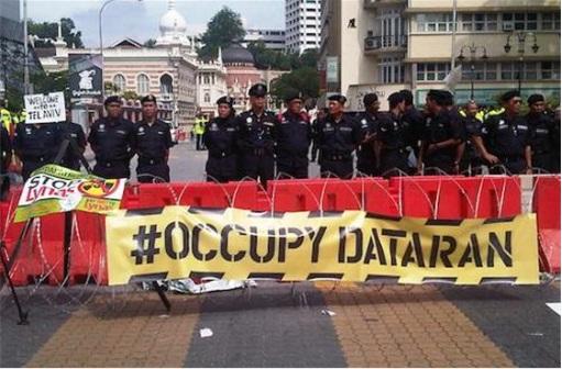 Bersih 3.0 Occupy Dataran Merdeka