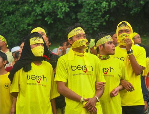 Bersih Demonstrators