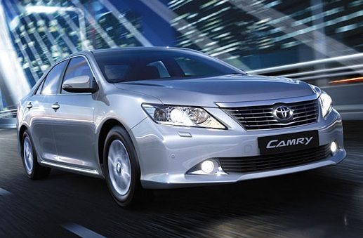 New 2012 Camry Exterior 1