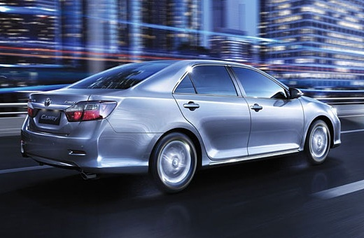 New 2012 Camry Exterior 2