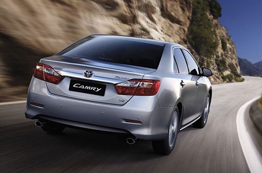 New 2012 Camry Exterior 3