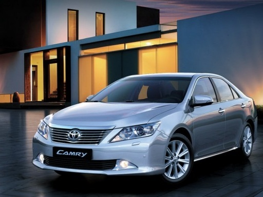 New 2012 Camry Exterior 7