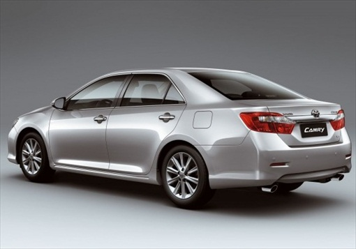 New 2012 Camry Exterior 8