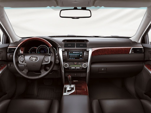 New 2012 Camry Interior 2