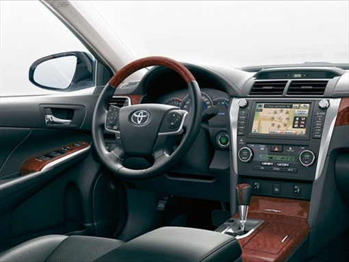 New 2012 Camry Interior 7