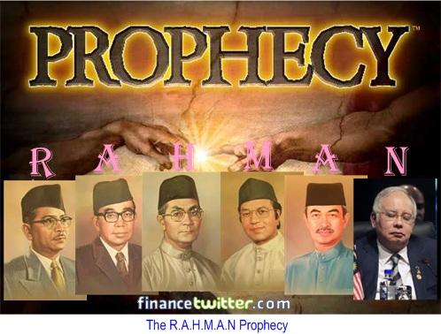RAHMAN Prophecy Najib Razak