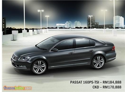 Volkswagen Passat Price