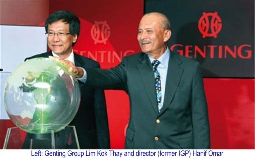 Genting Lim Kok Thay and Hanif Omar