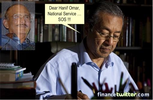 Mahathir Hanif Omar National Service