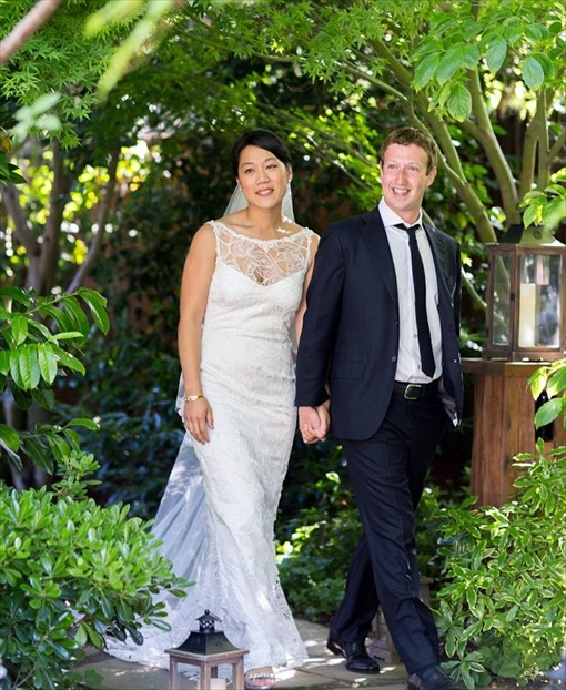 Mark Zuckerberg and Priscilla Chan Wedding