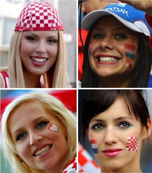 Euro 2012 Croatia Girls - 3