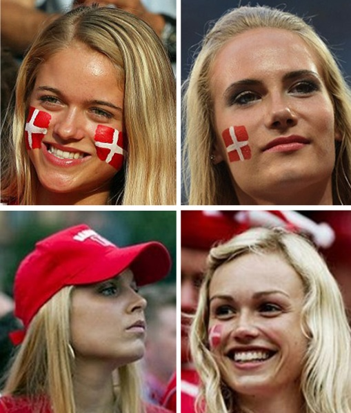 Euro 2012 Denmark Girls - 2