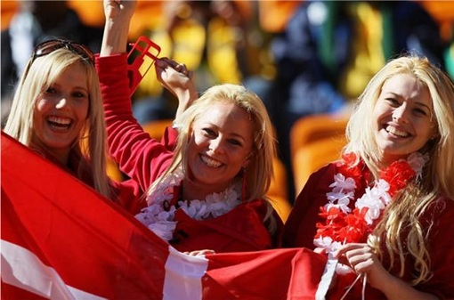Euro 2012 Denmark Girls - 3