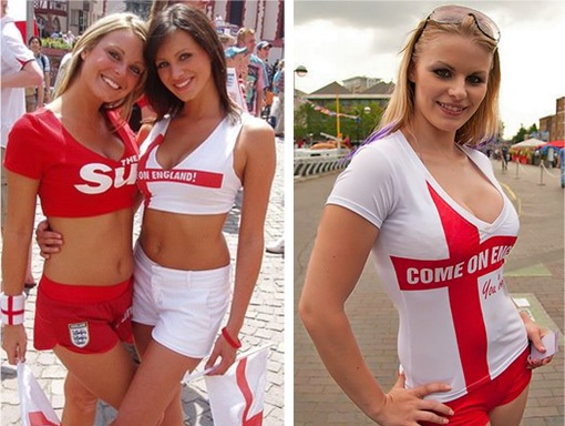 Euro 2012 England Girls - 1