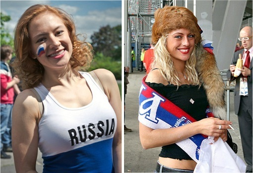 Euro 2012 Russia Girls - 1
