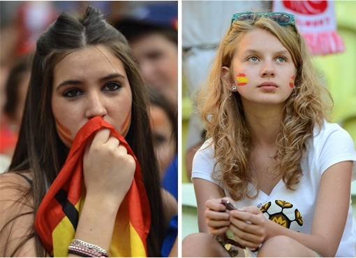 Euro 2012 Spainish Girls - 1