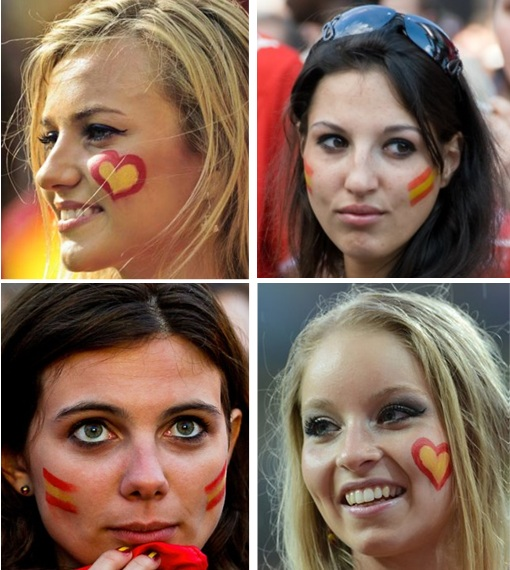 Euro 2012 Spainish Girls - 3