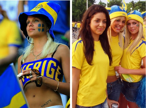 Euro 2012 Sweden Girls - 1