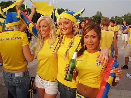 Euro 2012 Sweden Girls - 2