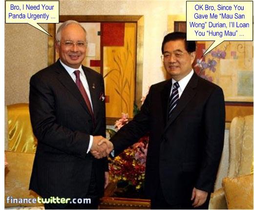 Najib Razak Wen Jia Bao