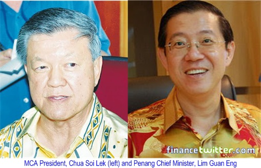 Chua Soi Lek and Lim Guan Eng Debate 2.0 - Profile