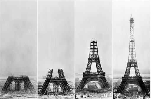 Eiffel Tower Construction 2