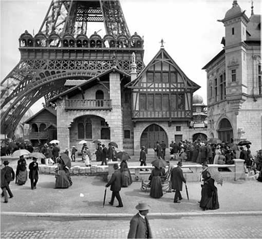 Eiffel Tower - Early Days