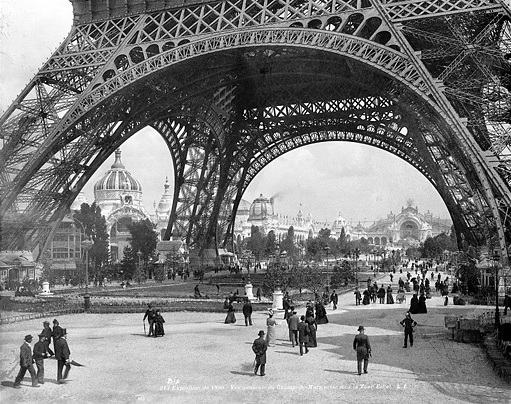 Eiffel Tower - Thomas Edison Visited