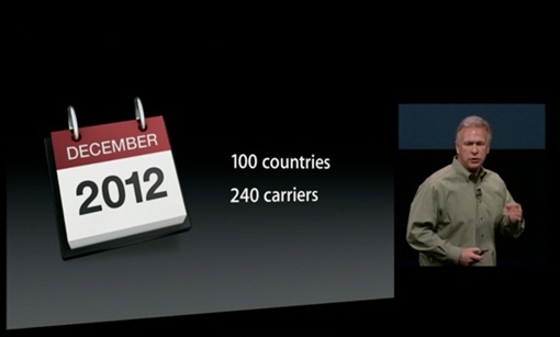 iPhone5 - Dec2012 - countries