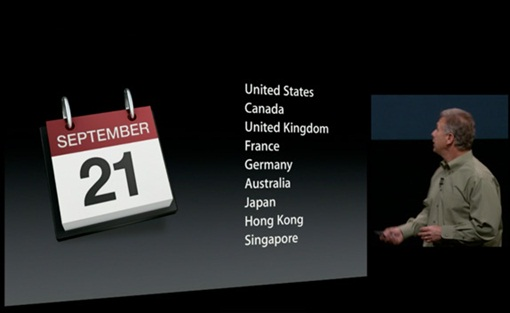 iPhone5 - Sept21 - countries