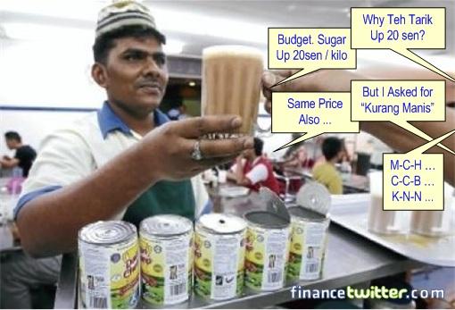 Budget 2013 - Reduce sugar subsidy