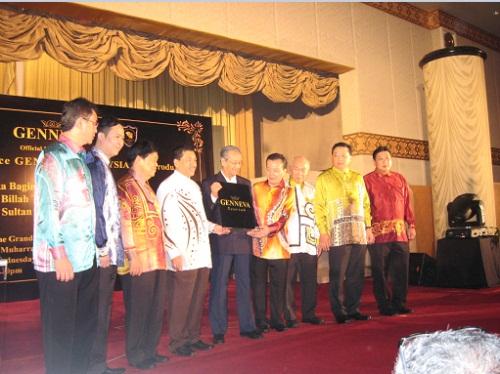 Genneva Gold - Mahathir Launching