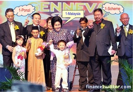 Genneva Gold - Rosmah Mansor, Appreciation Night 2012